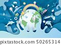 illustration of summertime Environment global 50265314