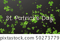 Saint Patrick's Day - a greeting card, wishes 50273779