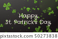 Happy Saint Patrick's Day - greeting card, wishes 50273838