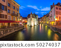 Annecy, called Venice of the Alps, France 50274037