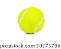 Tennis ball isolate 50275796