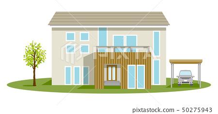 주택 하우스 클립 아트 50275943