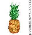 Sweet ripe pineapple 50277143