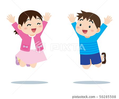 Child to jump 50285508