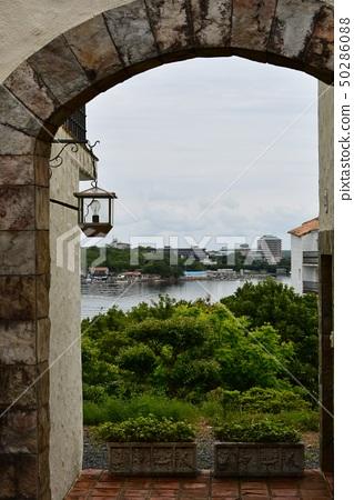 Southern European style cityscape 50286088