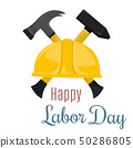 Happy Labor Day banner. Design template. Vector illustration 50286805