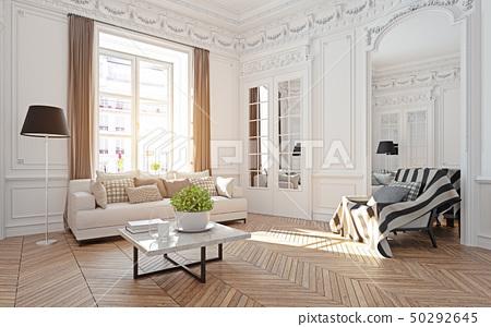 modern luxury living room. 50292645