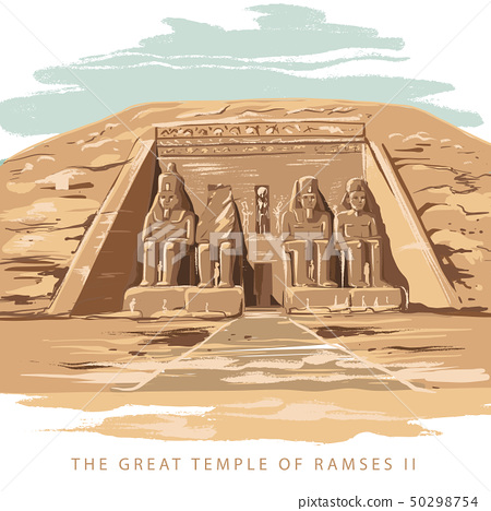 The Great Temple at Abu Simbel, Egypt 50298754