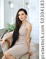 Woman in a dress 50304183