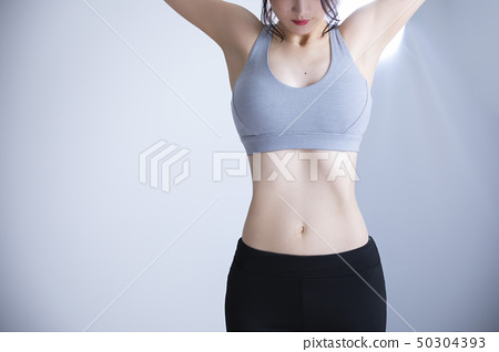 Young woman exercise 50304393