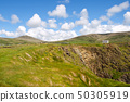 ireland landscape with house 50305919