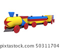 Train, colorful wooden toy 50311704