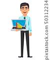 Concept of handsome confident business man 50312234