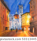 Piazza del Duomo in Florence, Italy 50313445