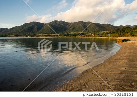 Evening view of Nagura Bay on Ishigaki Island 50318151