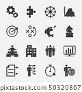 Business and Strategy  vector icon 50320867