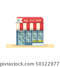 Store shopping design vector.Beautiful building 50322977