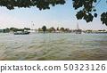 Thailand river front landscape.Jao praya river 50323126