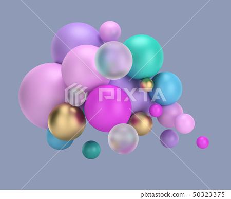 multicolored balls 50323375