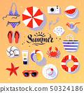 球 海滩 螃蟹 50324186