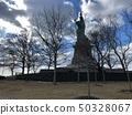 美国纽约曼哈顿自由女神像 50328067