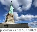 美国纽约曼哈顿自由女神像 50328074