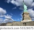 美国纽约曼哈顿自由女神像 50328075