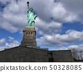 美国纽约曼哈顿自由女神像 50328085