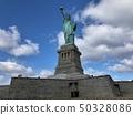 美国纽约曼哈顿自由女神像 50328086