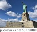 美国纽约曼哈顿自由女神像 50328089