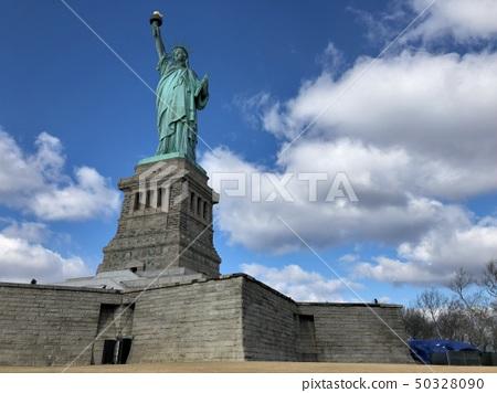美国纽约曼哈顿自由女神像 50328090