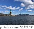 美国纽约曼哈顿自由女神像 50328091