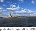 美国纽约曼哈顿自由女神像 50328098
