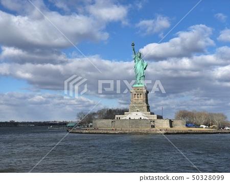 美国纽约曼哈顿自由女神像 50328099