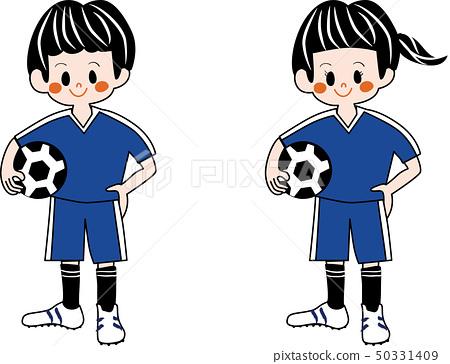 有足球的孩子 50331409