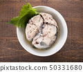 Boiled mackerel 50331680
