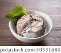 Boiled mackerel 50331684