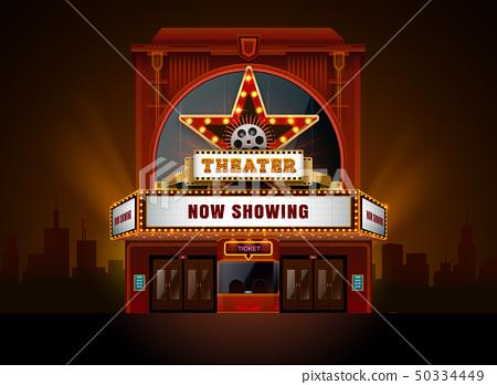 theater cinema building 50334449