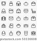 Bags icons 50336608