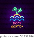 Enjoy Vacation Neon Label 50338104