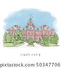 前北海道政府办公大楼红砖办公楼北海道旅游景点 50347706