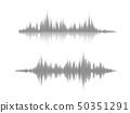 Sound wave rhythm. 50351291