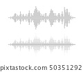 Sound wave rhythm. 50351292