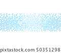 Sound wave rhythm. 50351298