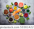 Various superfoods selection 50361422