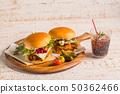 비행 치킨 (닷타) 버거 Fried chicken burger 50362466