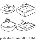 vector set of sink 50363166