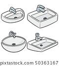 vector set of sink 50363167