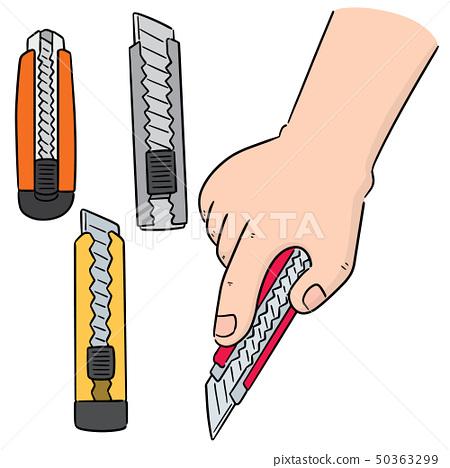 vector set of cutter 50363299