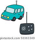 vector set of remote control car 50363349